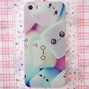 JOE Cotton Candy Pattern Nice Feeling Embossment Back Case for iPhone 5/5S