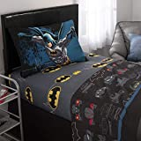 Warner Bros Batman Kids Bedding Soft Microfiber Sheet Set, Twin Size 3 Piece