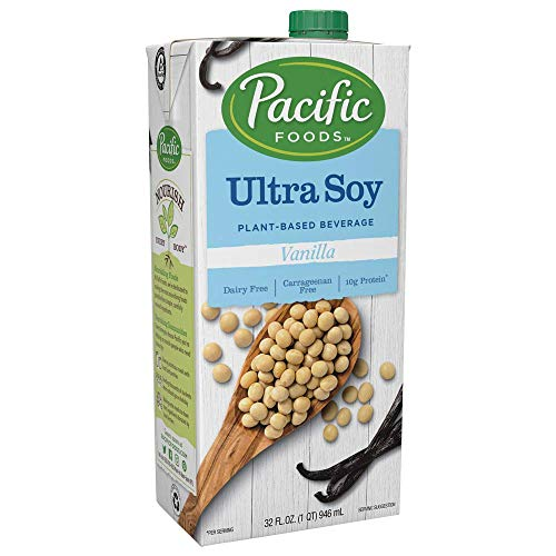 Pacific Foods Ultra Soy Vanilla Plant-Based Beverage, 32oz
