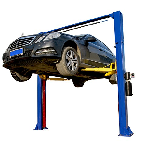 APlusLift HW-10KOH 10000LB Two Post Overhead Auto Hoist Clear Floor Car Lift / 12 Months Parts Warranty