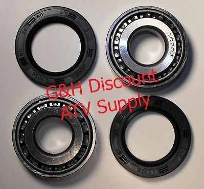 Quality Swingarm Bearing Seal Kit for the 1997-2011 Honda TRX 250 Recon TE TM ES ATV