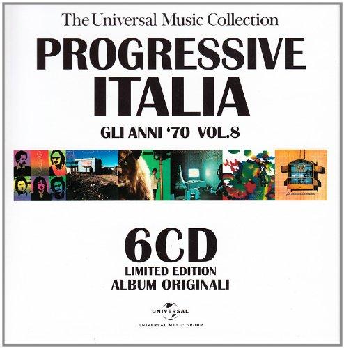 Vol. 8-Progressive Italia: Gli Anni 70                                                                                                                                                                                                                                                                                                                                                                                                <span class=