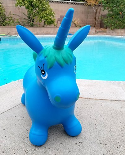 Bouncy Magical Horn B07F8GVNTP BlueUnicorn Hopper Animal Pump Bouncy Inflatable Ride-On Toy Includes Hand Pump Great Gift For Kids [並行輸入品] B07F8GVNTP, ゴルフスタジオ スクエア:03eb3f86 --- imagenesgraciosas.xyz