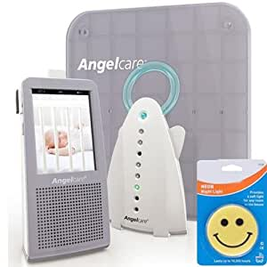 angelcare ac 1100 new model video movement sound baby monitor with night light and. Black Bedroom Furniture Sets. Home Design Ideas