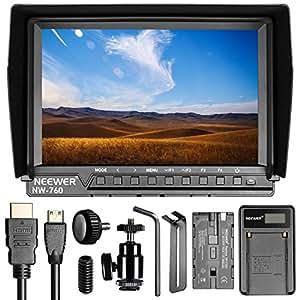 Amazon.com : Neewer NW760 Ultra HD 7 Inches 1920x1200 IPS ...