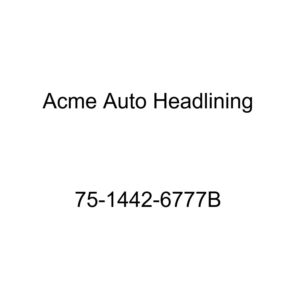 Acme Auto Headlining 75-1442-6777B Red Replacement Headliner 3 Bow 1975 Chevrolet Luv