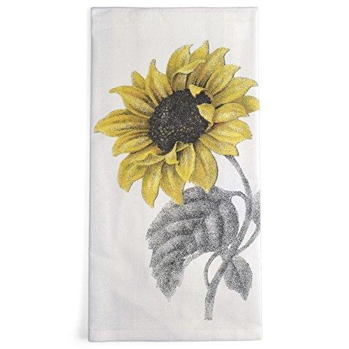 Montgomery Street Sunflower Cotton Flour Sack Dish Towel