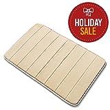 Basics Hardware Memory Foam Bathroom Mat, Extra Soft with Anti-Skid Bottom, 20 X 32-inch