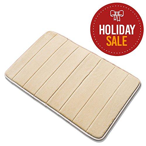 Basics Hardware Memory Foam Bathroom Mat, Extra Soft with Anti-Skid Bottom, 20 X 32-inch by Basics Hardware