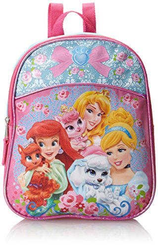Disney Little Girls' Palace Pets Princess Mini Backpack, Blue/Pink, One Size