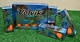 2 Dozen Volvik Crystal Orange Golf Balls - New in Box