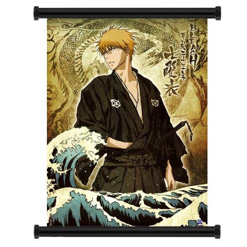 Bleach Ichigo Anime Fabric Wall Scroll Poster