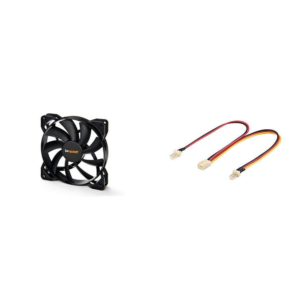 BL046 Pure Wings 2 Ventilateur 120 mm /& TP-Link TL-WN881ND Adaptateur PCI Express Wi-Fi N 300 Mbps avec Equerre Low Profile Be Quiet