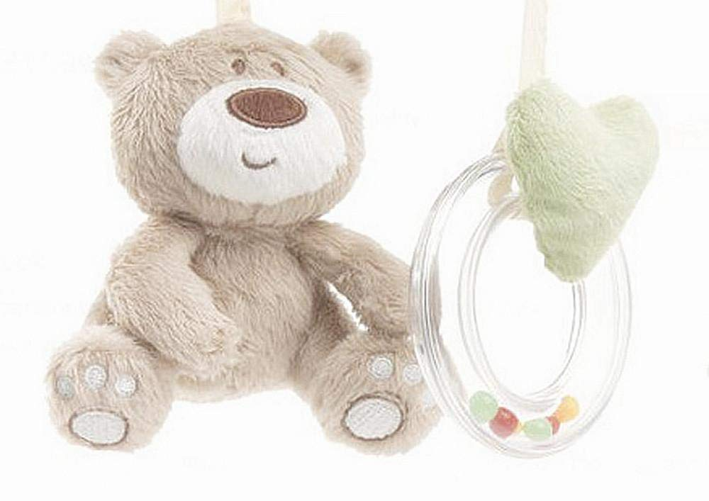 Plush and Musical Hanging Toys for 1-36 Month Babies – Helps Stimulate Visual and Auditory Development – It Includes a Musical Rattling Bell – Designed to Fully Attract Baby's Attention – Gender Neutr