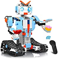 AOKESI Remote Control Robot Building Blocks Educational Kit Engineering STEM Building Toys Intelligent Gift for Boys and...