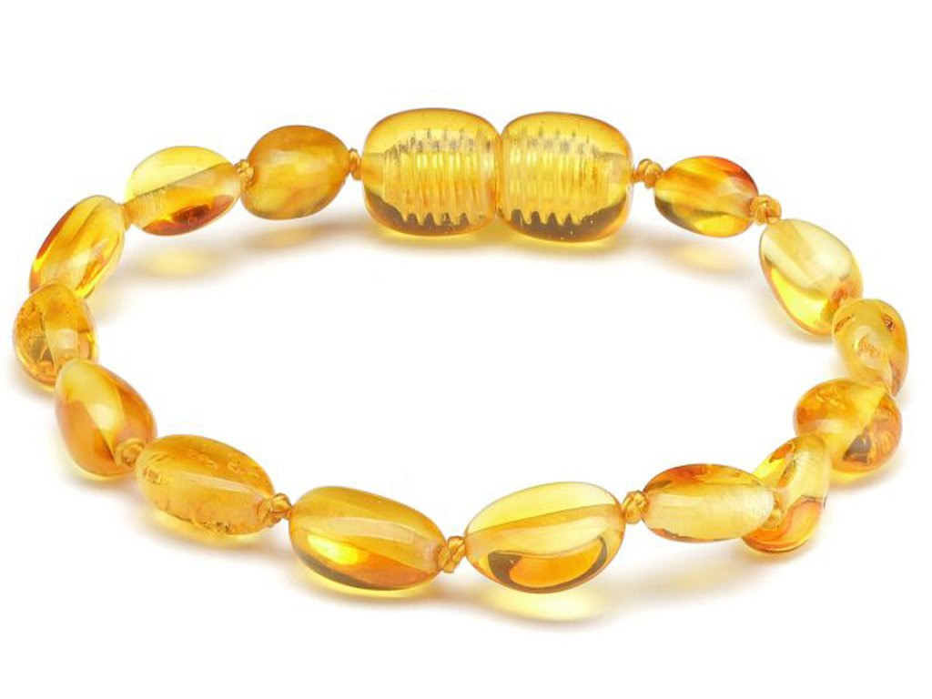 100% Genuine Amber Anklet/Bracelet Knotted from UK Dristriibutor 11-23CM SilverAmber Jewellery BEACOGB13