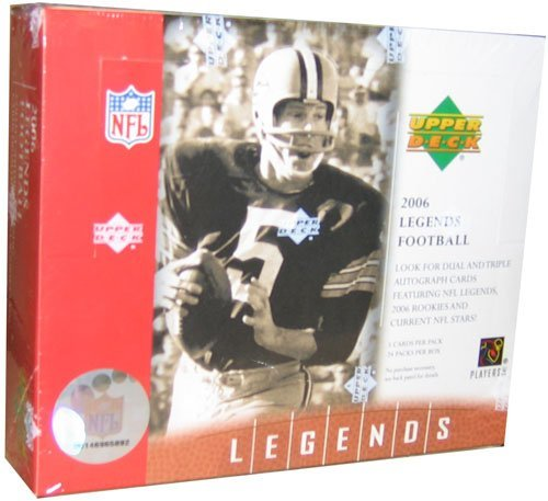 2006 Upper Deck Legends Football Cards Box - Autographs In Every Box
