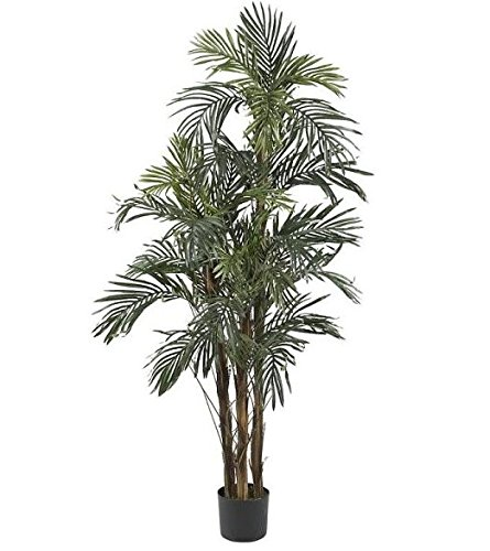 SKB Family 5' Robellini Palm Silk Tree home beauty exotic by SKB family