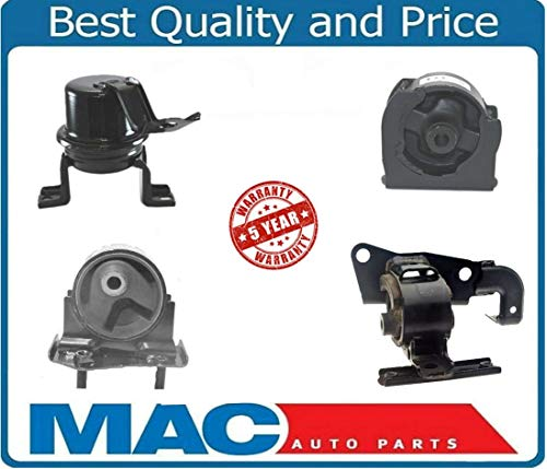 4 Transmission Piece (Mac Auto Parts 142344 Rav4 Motor Mount kit With Manual Transmission Front Mount 4 Piece Kit)