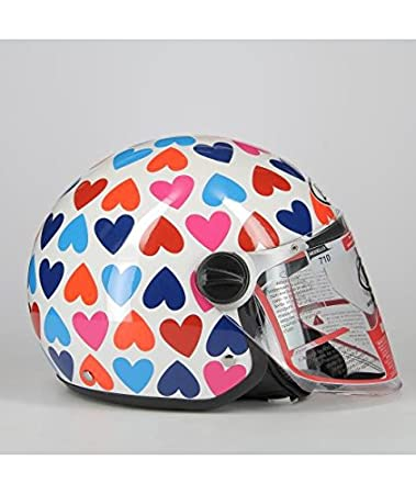 Pois BHR 93847 Demi-Jet Open Face Helmets Small