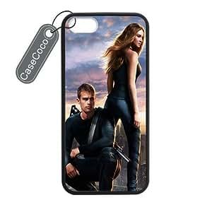 diy case Divergent iPhone 6 4.7 Case- Protective Hard Back / Black Rubber Sides Case for iPhone 6 4.7
