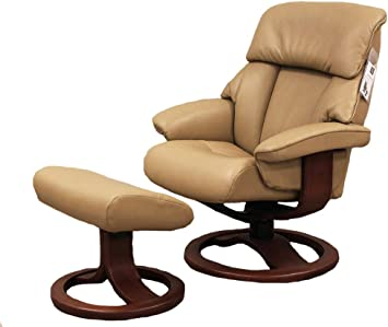 : Fjords Alfa 520 Large Leather Recliner Chair