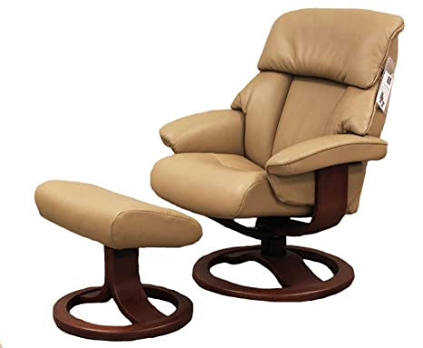 Terrific Amazon Com Fjords Alfa 520 Small Leather Recliner Chair Andrewgaddart Wooden Chair Designs For Living Room Andrewgaddartcom