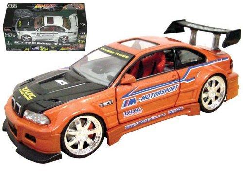 Extreme Tuner 1/24 Scale BMW M3 E36 Diecast Model (Random Color)