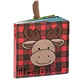 Jellycat Baby Touch and Feel Board Books, If I Were a Moose