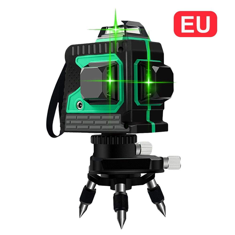 Class-Z Niveau Laser Vert Ligne Laser Verte 3D12 de Niveau 360 Ligne Horizontale et Verticale de Croix Super puissante