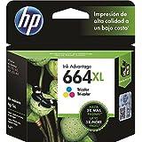 HP F6V30AB, Cartucho de Tinta 664XL, Colorido