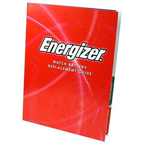 Energizer - Watch Battery Replacement Guide (Watch Batteries Cross Reference)