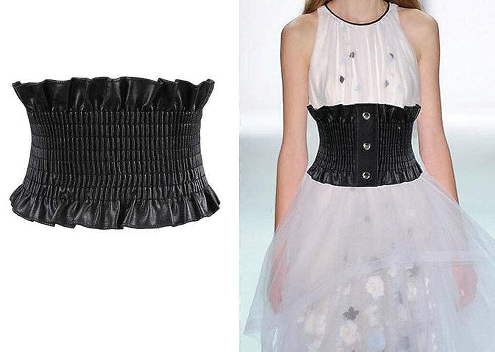 Oyccen Signore Cinture Elastiche Larga Corsetto Cintura Elastica da Donna per Vestito