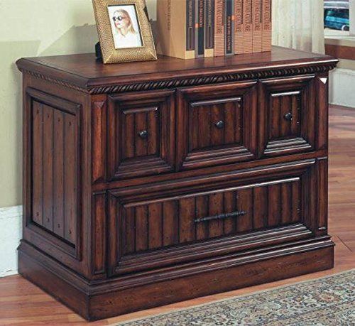 Parker House Solid Wood Lateral File Cabinet In Walnut St...