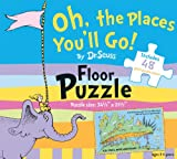 Oh, the Places You'll Go! by Dr. Seuss Floor Puzzle: Includes 48 giant puzzle pieces