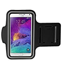 Mingbow® Sports Armband Wrist Band Case Bag Pouch Exercise Arm Band Case Cover for Samsung Galaxy Note 4 / iPhone 6 Plus