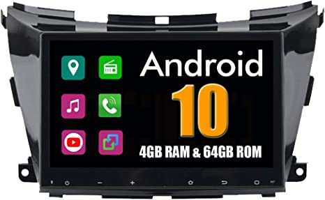 Roverone 10 2 Zoll Android System Octa Core Für Nissan Murano Z52 2015 Auto Multimedia Player Mit Autoradio Stereo Gps Navigation Radio Bluetooth Mirror Link Touchscreen Navigation