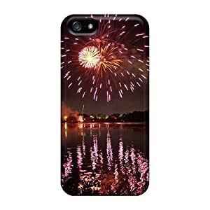 For Iphone Cases, High Quality Fireworks 1 For Iphone 5/5s Covers Cases