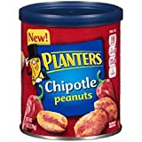 Planters Chipotle Peanuts, 6 oz Can (Pack of 4)