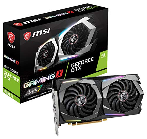 Build My PC, PC Builder, MSI GeForce GTX 1660 Ti GAMING X 6G