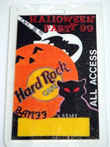Oct 31 Halloween Party 1999 Banff Hard Rock Café Staff All Access -