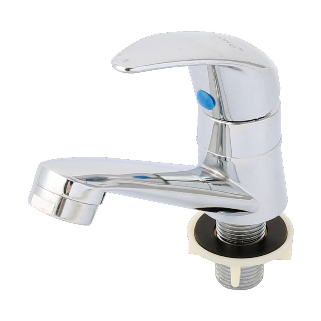 uxcell Stainless Steel Bathroom Kitchen Sink 20mm Threaded Replace Water Tap Faucet