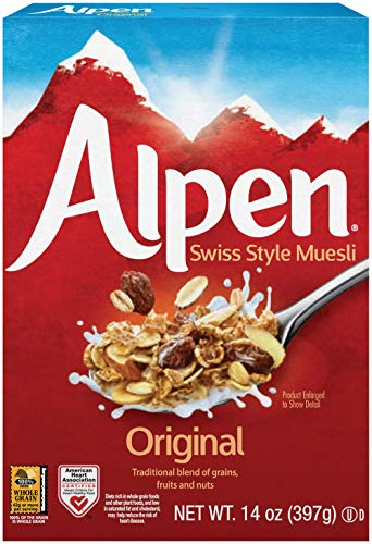 (Alpen Cereal, Original, 14 Ounce Box)