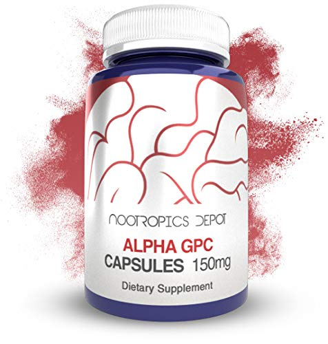 Alpha GPC Capsules | 150mg | 180 Count | Cholinergic Supplement | Brain Health Supplement | Supports Healthy Brain Function | Enhance Cognition, Memory + Focus by Nootropics Depot (Image #5)
