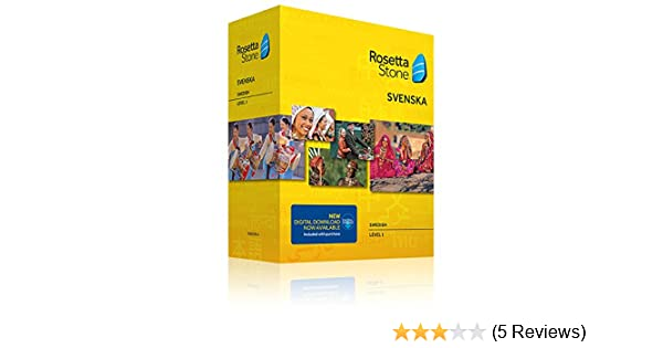 Amazon com: Learn Swedish: Rosetta Stone Swedish - Level 1