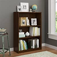 Ameriwood 3-shelf Bookcase, Multiple Finishes (Northfield Alder)