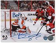 Brady Tkachuk Ottawa Senators Autographed 1st NHL Goal 8x10 Photo