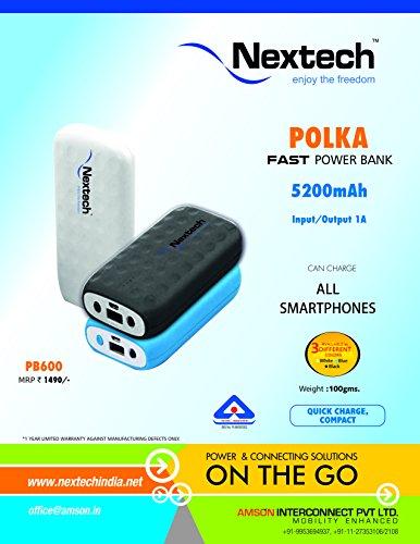 Nextech Polka 5200mAH Power Bank