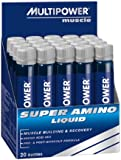 Multipower Super Amino Liquid, 20 Ampullen, 1er Pack (1 x 500 ml)