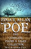 Edgar Allan Poe: The Complete Collection. (With Accompanying Facts): 122 Short Stories, Poems, and Novella.